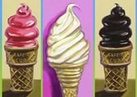 Pop Cones Fine Art Print