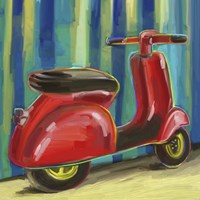 Pop Scooter Fine Art Print