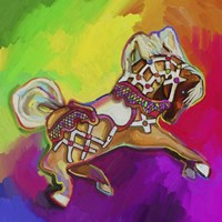 Carousal Pony Fine Art Print