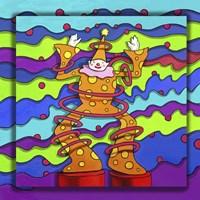 Pop Art Clown Fine Art Print
