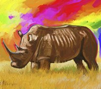Rhino 2 Fine Art Print