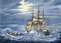 Stormy Seas Fine Art Print