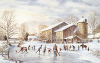 The Skating Party Fine Art Print