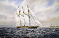 "Schooner  ""Atlantic"" Fine Art Print"