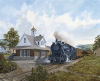 Locomotive Fine Art Print