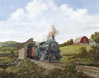 Locomotive 2 Fine Art Print