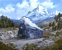 Locomotive 4 Fine Art Print