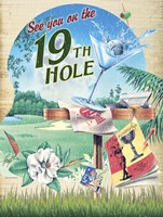 19th Hole Fine Art Print