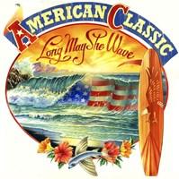 American Classic Fine Art Print