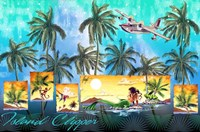 Mermaid Clipper Fine Art Print