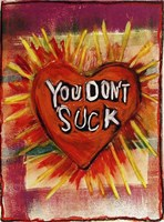 Suck Heart Fine Art Print