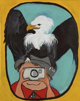 Smile Eagle Fine Art Print