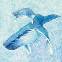 Blue Mama v2 Fine Art Print
