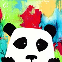 Primary Panda Fine Art Print