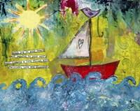 Sail Towards Fine Art Print