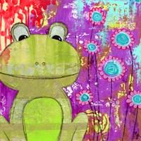 Whimsical Frog Fine Art Print