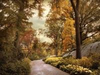 Azalea Garden in Autumn Fine Art Print