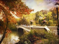 Bow Bridge Crossing Fine Art Print