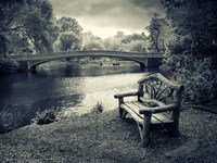 Bow Bridge Nostalgia Fine Art Print
