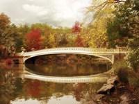 Bow Bridge Reflected Fine Art Print