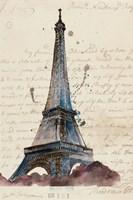 Letters from Eiffel Fine Art Print