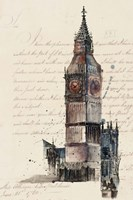 Letters from Big Ben Fine Art Print