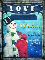 Love Keeps You Warm Fine Art Print