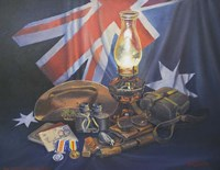 An Anzac Remembered Fine Art Print