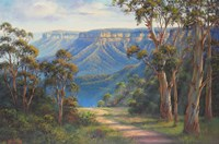 Blue Mountains Bushwalk Fine Art Print
