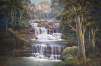 Queen's Cascades Fine Art Print