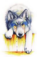 Drowning in Tears Fine Art Print