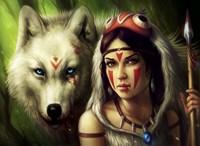 Warrior Princess Fine Art Print
