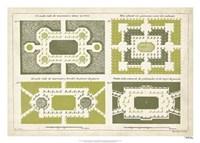 European Garden Design III Fine Art Print