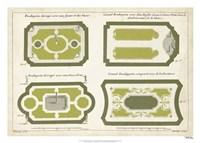 European Garden Design V Fine Art Print