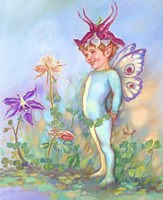 Columbine Elf Fine Art Print