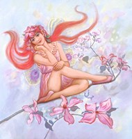 Dogwood Fairy Fine Art Print