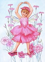 Fairy Of The Pinks Fine Art Print