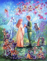 Fairy Wedding Fine Art Print