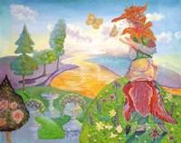 Flower Goddess Fine Art Print