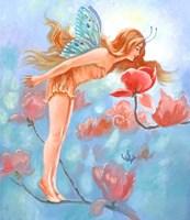 Magnolia Fairy Fine Art Print