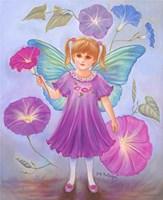 Morning Glory Fairy Fine Art Print