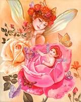 My Little Rosebud Fine Art Print