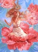 Peony Fairy Fine Art Print