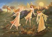 Moonlit Dance Fine Art Print
