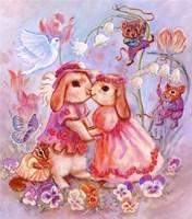 Bunny Wedding Fine Art Print