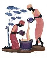 Two Women Pouring Fine Art Print