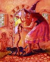 Gingerbread Witch Fine Art Print