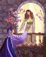 Romeo And Juliet's Balcony Framed Print
