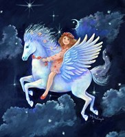 The Fly-Away-Horse Fine Art Print