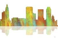 Tulsa Oklahoma Skyline 1 Fine Art Print